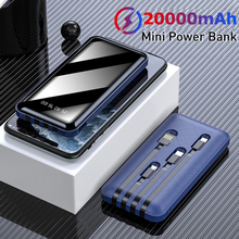 Charger Power-Bank External-Mobile-Battery Fast-Phone Portable 10000/20000mah with Mini