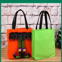 Halloween Childrens Gift Bag Kids Portable Candy Non-woven Tote Party Decoration Cute Home Bar KTV Decors