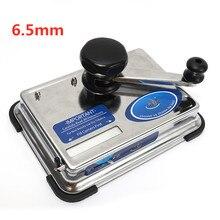 Für 8mm/6,5mm Rohr Tragbare Metall Tabak Roll Maschine Zigarette Maker Manuelle Joint Rauchen Zubehör Technologie Gadgets
