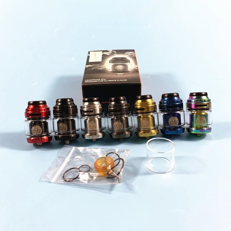 RTA Atomizer Rta 316 MTL Tank 24mm 4.5ML Atomizer Electronic Cigarette Rebuildable Zeus X Tank Adjustable Airflow For Vape Mod