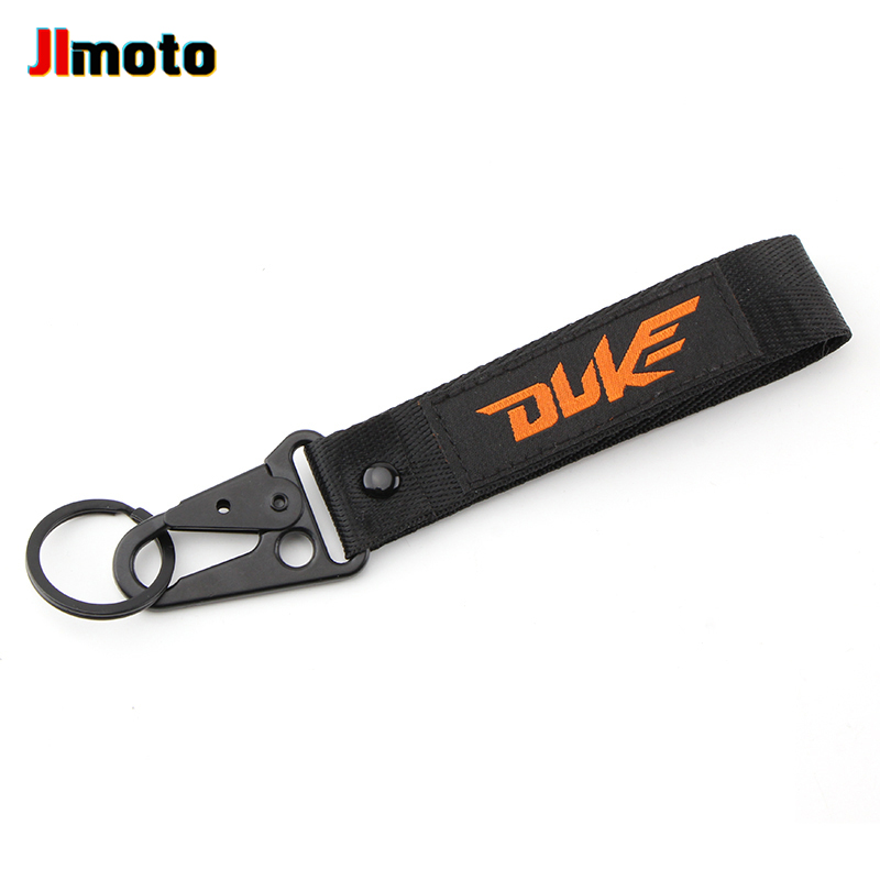 For KTM Duke 125 390 690 200 790 RC390 990 1190 1090 1290 1090 New Motorcycle Embroidery Key Chain Keychain Fast Free Shipping