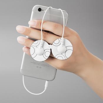 Hwato e-tens Smartphone masażer niska częstotliwość chiński meridian terapia pulse meridian mini mikro elektroniczny masażer punktowy tanie i dobre opinie YUWELL English version