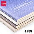 Дели 4 шт./упак. записная книжка  Студенческая мягкая лицевая копия B5  записная книжка  Простой деловой офис  колледж  мягкая копия  блокнот  к...