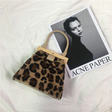 Wooden Top Handle Clip Bag Buckle Women Shoulder Messenger Vintage Woven Straw Clutch Purse Bolso Female Lady Handbag