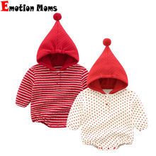 Emotion Moms New Winter Autumn LongSleeve Fashion Rompers Baby Clothing Children For Baby Girls Jumpsuit Costume Newborn Clothes reima rompers 7796984 for children polyester winter