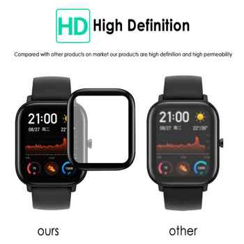 Watch Screen Cover Case 3D Curved Watch Film For Amazfit GTS Screen Protector Guard Not Glass Smart Watch Accessories
