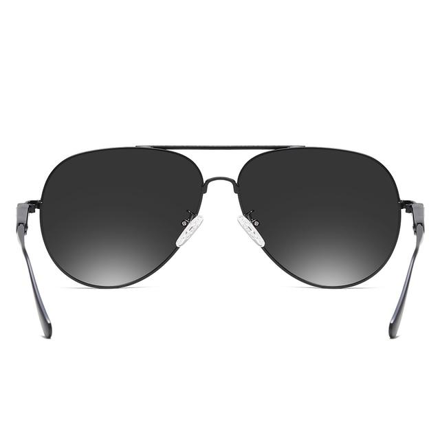 2020 Classic Retro Oversized Polarized Sunglasses for Men Women Driving Aviator Alloy Frame Sun Glasses UV400 Protection 2