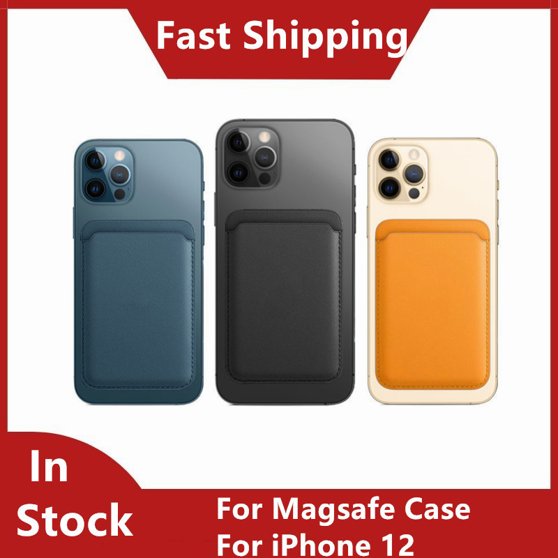 Iphone 12 Case With Card Holder | For Magsafe Case For IPhone 12 Mini Card Bag Magsafing Magnetic Fashion Wallet Card Holder For 12 Pro Max Case For Magsafe