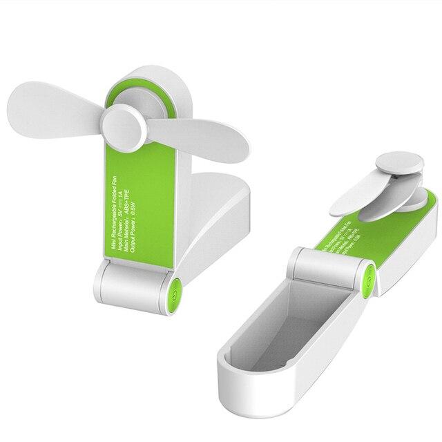 USB Mini Fold Fans Electric Portable Hold Small Fans Originality Small Household Electrical Appliances Desktop Electric Fan Appliances