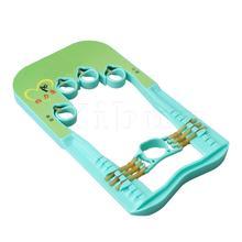 Yibuy Многоцветный Пластиковый детский тренажер для пальцев