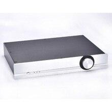 4307 PASSARE Tutti I telai in alluminio Preamplificatore caso Amplificatore audio custodia Pre amp shell 430*70*308 MILLIMETRI