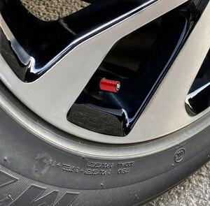 Image 5 - 4 pçs tampões de válvula de pneu de carro de alumínio válvula de ar do pneu para dacia duster logan sandero lodgy stepway mcv 2 acessórios
