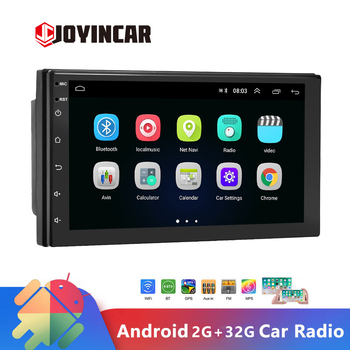 JOYINCAR Universal Android 9.1 2din Car Radio GPS Multimedia MP5 Player Car Autoradio Stereo Radio 2 din for VW Nissan Hyundai image