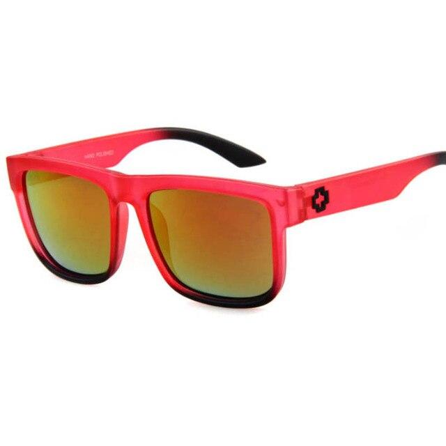 ClassicSportVintageMirrorSquare Sunglasses-UV400 4