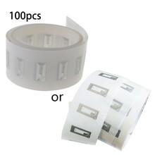 RFID NFC etiqueta pequeña 13,56 mhz 10x20mm transparente ntag213 pegatina-100 unids/lote