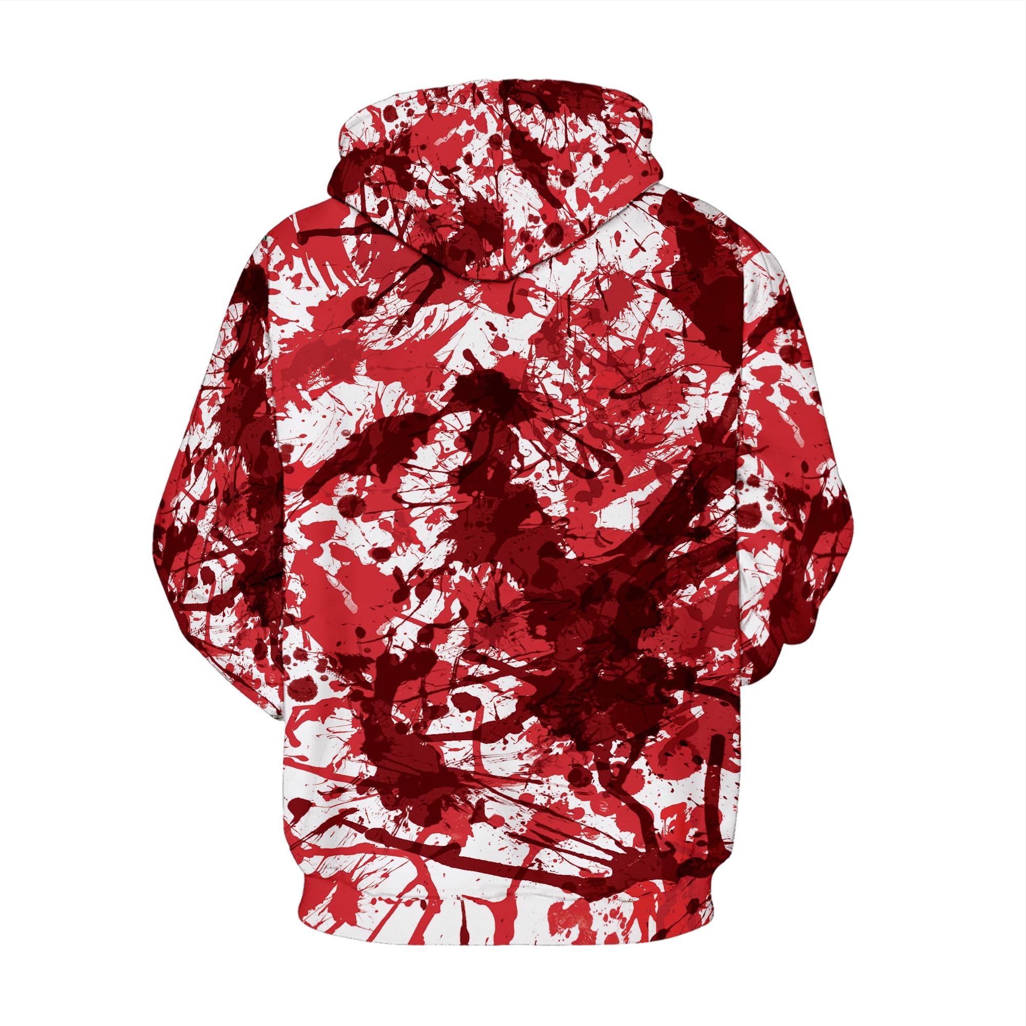 3D Print Sweatshirt 2019 Men Women Hoodies Big Red lips Graphic Hip Hop Streetwear Pullover Tracksuit Couples Halloween Tops in Hoodies amp Sweatshirts from Men 39 s Clothing
