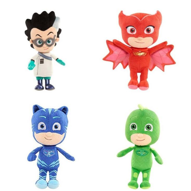Pj Masks Anime Kids Toys 20-25 CM Stuffed Doll Plush Toys Children Birthday Gifts