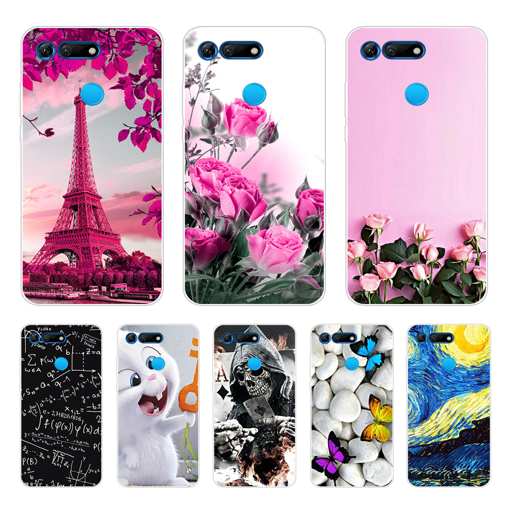 For Huawei Honor View 20 Honor V20 Case Honor View 20 Cover TPU Soft Silicone Phone Case For Huawei Honor V20 View20 Back Cover