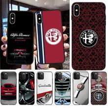 Pretty alfa romeo Phone Case Cover for iPhone 11 pro XS MAX 8 7 6 6S Plus X 5S SE 2020 XR case