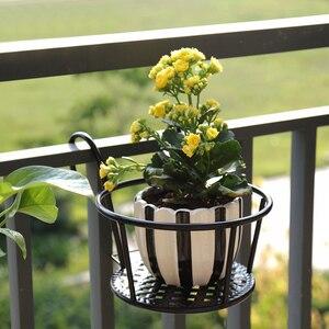 Image 3 - 強力な多彩な軽量幾何学的な金属植物スタンド植物棚ラック屋内 myding