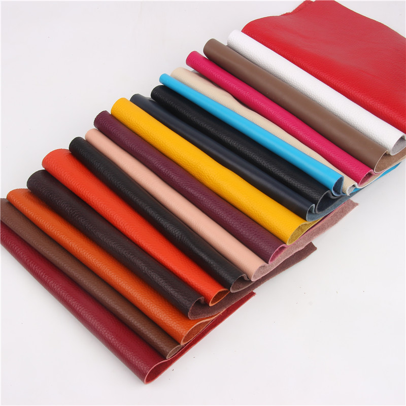 First layer cowhide leather thick genuine leather good for leather carving cowhide leather lots color choice image