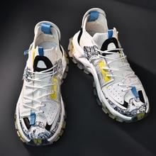 Explosive super transparent mesh sneakers, fashion trendy shoes, large size 39-45 2021