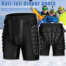 Зимние дышащие спортивные шорты для катания на лыжах, Защитные шорты для катания на лыжах