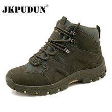 Winter Men Military Boots Quality Special Force Tactical Desert Combat Ankle Boa