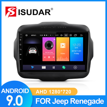 ISUDAR Car Radio For Jeep Renegade 2014 2015 2016 2017 2018 1 din Android 9 Autoradio Multimedia GPS DVR Camera RAM 2GB ROM 32GB