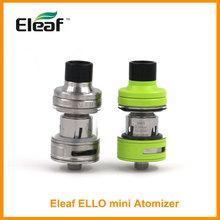 Wielka wyprzedaż oryginalny Eleaf ELLO Mini Atomizer 2ml pojemność zbiornik HW1 jednocylindrowy HW2 cewka elektroniczny papieros tanie tanio Metal Wymienne 510 Thread