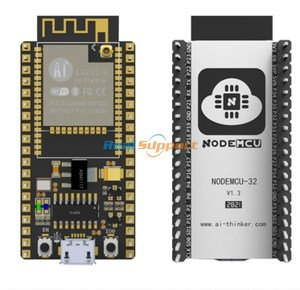Image 1 - Originele NodeMCU 32S Lua Wifi Iot Development Board ESP32S ESP32 WROOM 32 Dual Core Draadloze Wifi Ble Module Ai Denker