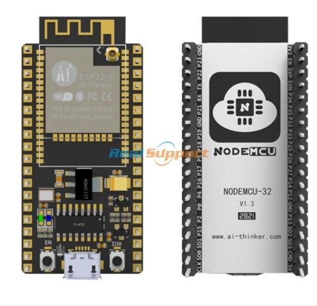 Originele NodeMCU 32S Lua Wifi Iot Development Board ESP32S ESP32 WROOM 32 Dual Core Draadloze Wifi Ble Module Ai Denker