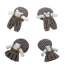 Baby Doll-Clothes Gsc-Head Ob11 Ddf-Body Accessories Strap-Set Can-Wear Retro