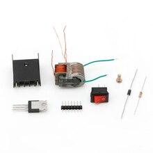 DC высоковольтный генератор инвертор электрический воспламенитель 15кВ 18650 батарея DIY Kit
