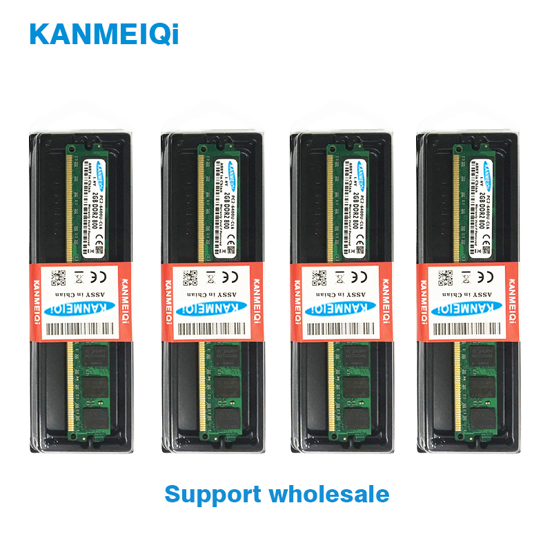 KANMEIQi DDR2 2GB RAM for Desktop with 800MHz Memory Speed 5