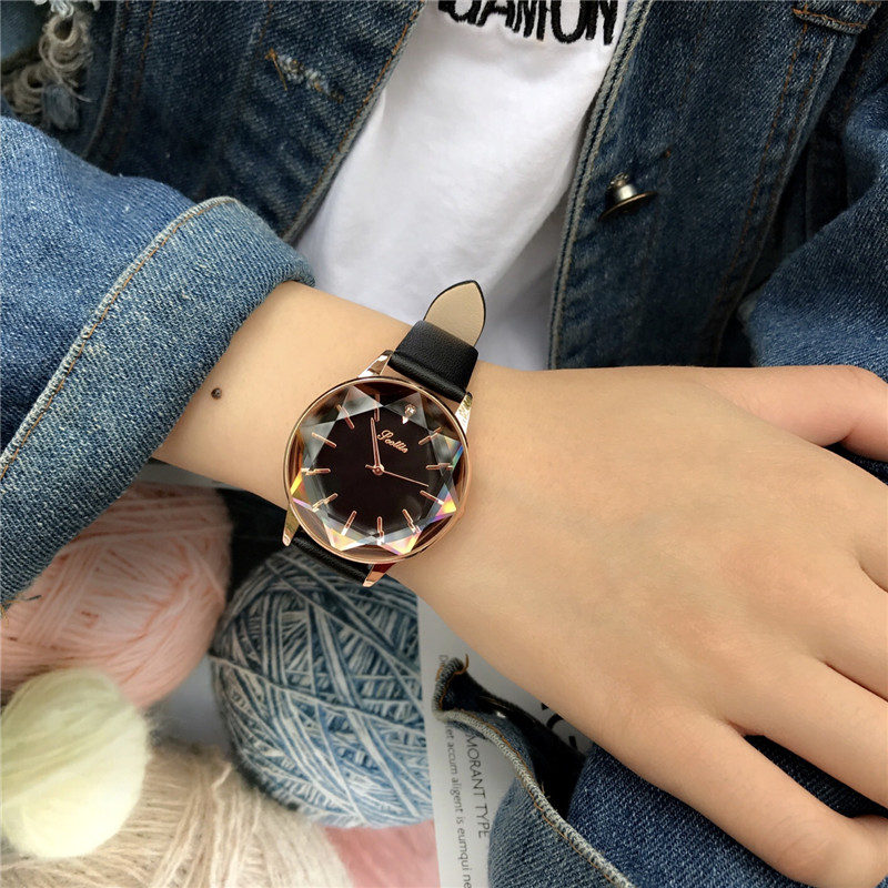 high quality hot selling analog wrist watch for women girls quartz wristwatches image