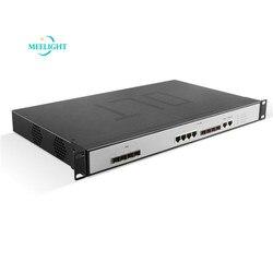 Epon Olt 4 Pon Web/Nms Netwerk Management Drie-Tier Schakelfunctie Up-Lijn Terminal Apparaten Communicatie apparatuur
