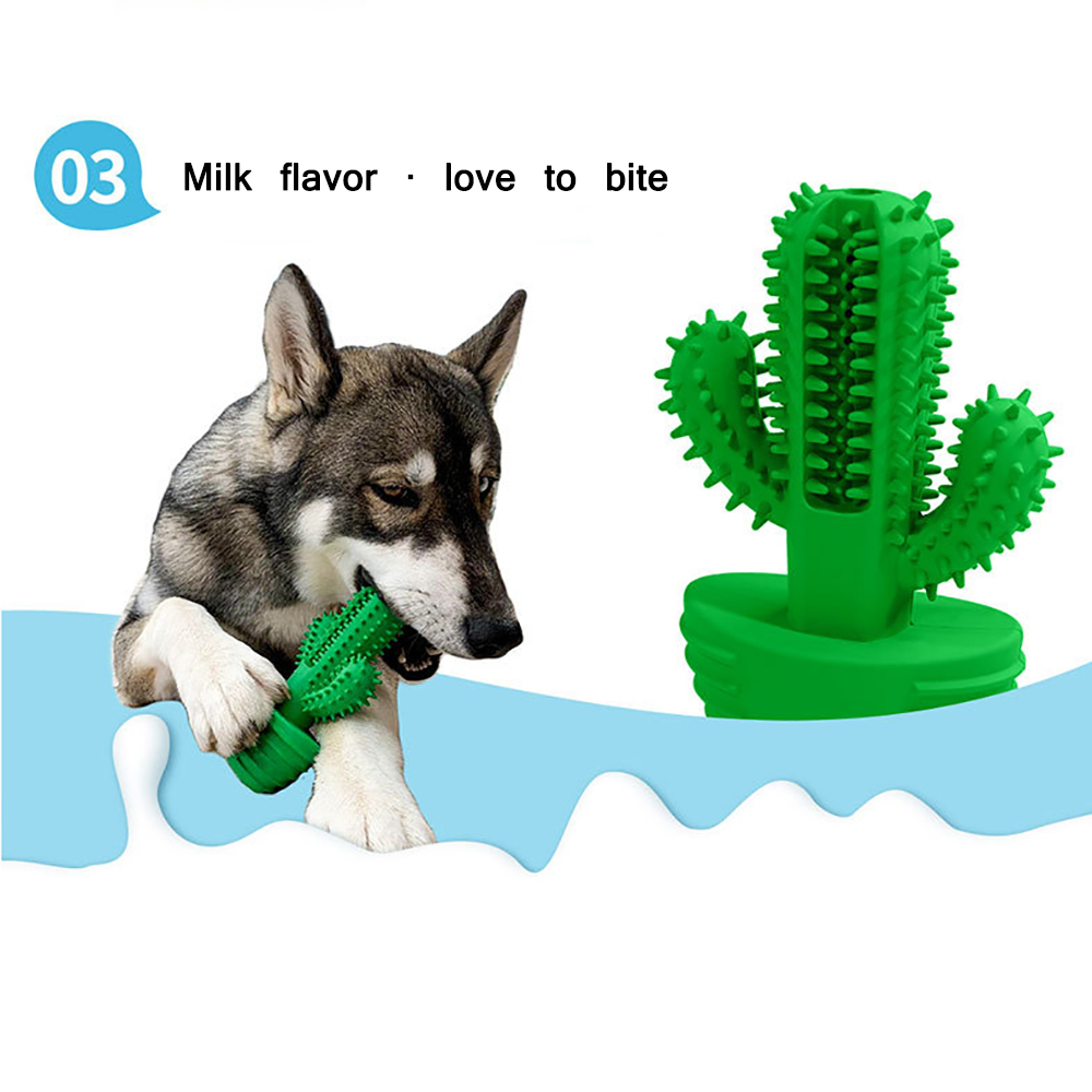 2020 Dropshipping Dog Brushing Stick Dog Toys Brushing Stick Dog Brush Effective Toothbrush For Dogs Pets Oral Care Tooth Sticks