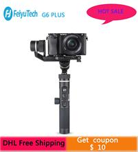 цена на FeiyuTech G6 Plus 3-Axis G6P Handheld Gimbal Stabilizer for Mirrorless Camera GoPro Smart phone Payload 800g Feiyu G6P