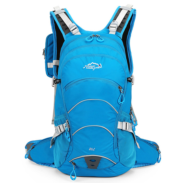 20L Ergonomic Waterproof Bicycle Backpack Ventilated Cycling Climbing Travel Running Portable Backpack Outdoor Sports Water Bags 2