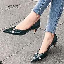 Женские туфли лодочки женская обувь на высоком каблуке; с острым