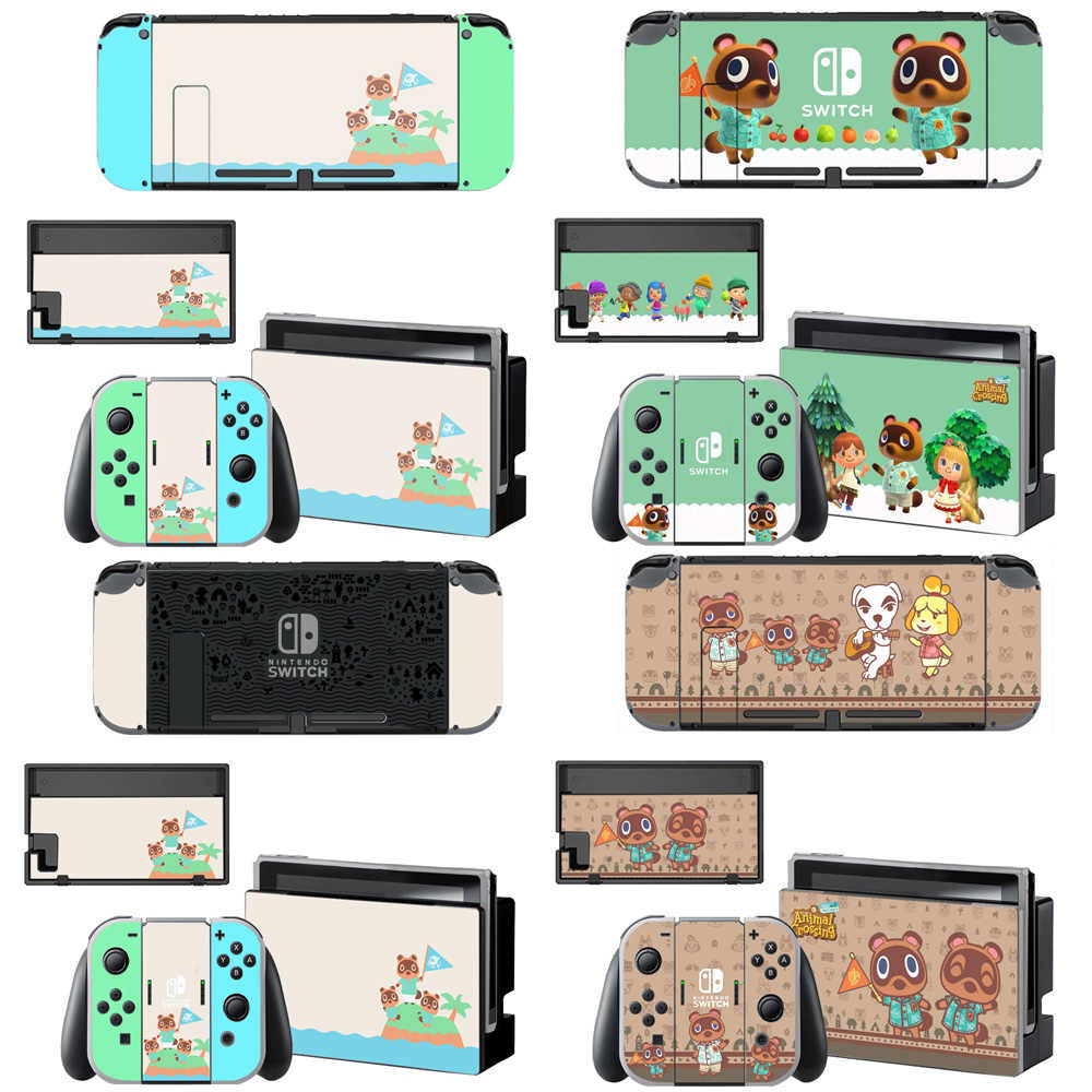 Animal Crossing Screen Protector Sticker Skin For Nintendo Switch