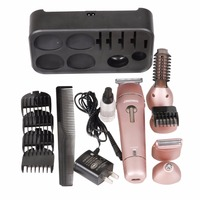 HOT 5 in 1 Rechargeable Stainless Steel Blade Cordless Shaver Razor Beard Body Hair Clipper Cutting Trimmer Kit Styling Tool New