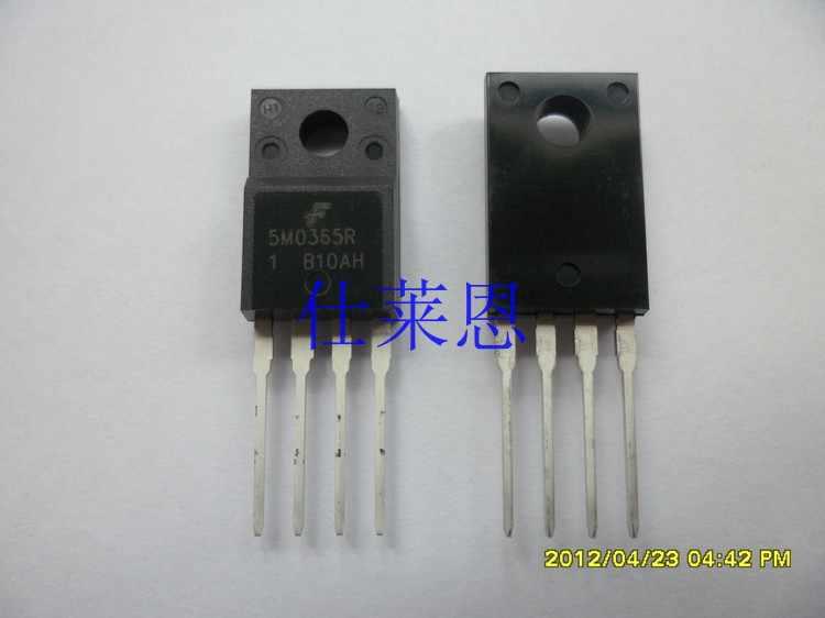 5M0365R KA5M0365RYDTU ישר רגליים, כפוף יש את לוח חשמל כוח שבב