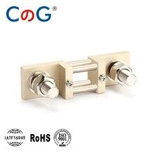 800A 1000A 1200A 1500A CG FL 2D tipo DIN 60mV 100mV DIN latón Resistor DC Shunts para medidor de Panel analógico de corriente