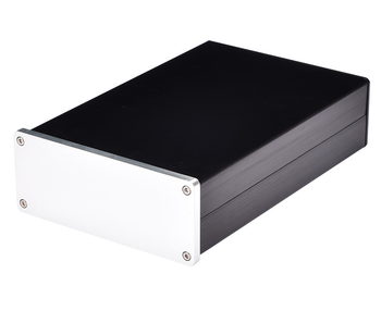 172*70*261mm 1707 All-aluminum Chassis Can Be Used for Attack and Discharge Amp DAC All Aluminum Amplifier Chassis DIY Box wolf audio wf1101 auminum chassis audio amplifier enclosure mini amp case dac box diy house
