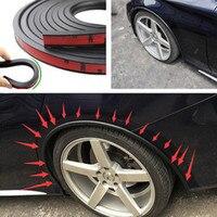 Carro macio fender alargamento extensão roda sobrancelha protetor lábio roda-arco guarnição roda sobrancelha arco tira decorativa pneus de carro