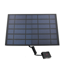 Solar Charger 10W 6W Zonnepanelen Oplader Met Usb poort Solar Battery Charger Power Voor Mobiele Telefoons 5V Usb