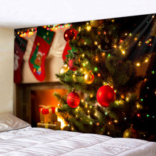 Christmas decoration Art Home Wall Hanging Tapestry Wall Ornamentation Christmas Wall Decor High Quality Tapestry Home Decor