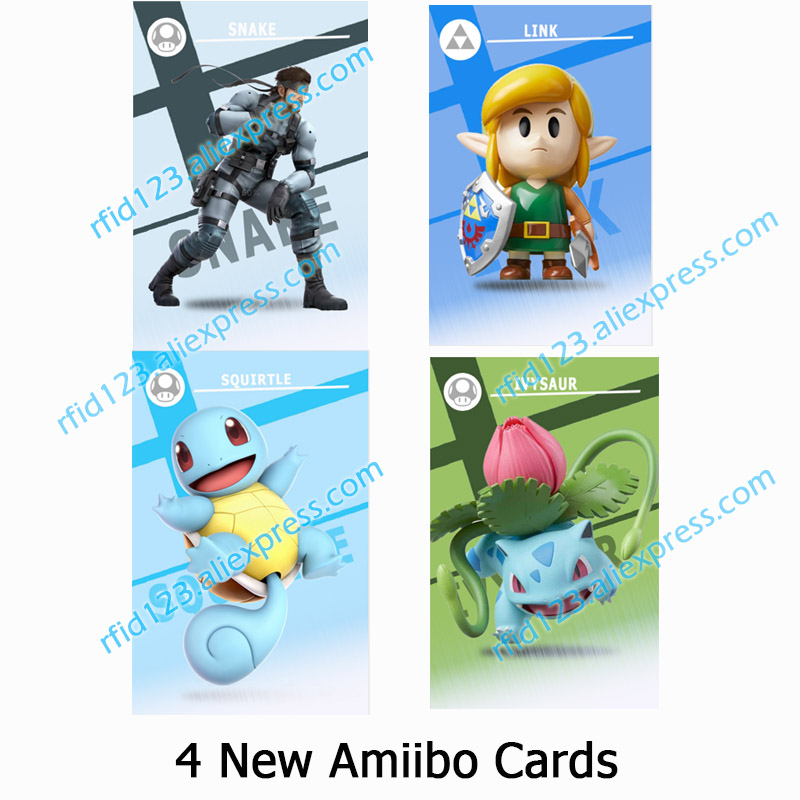 NFC Amiibo Card Link's Awakening Work For Super Smash Bro.